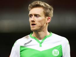 """""""Offenbar hat er dort eine Schwachstelle"""": Wolfsburgs André Schürrle ist erneut am Oberschenkel verletzt."""