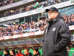 Wartet auf den ersten Punkt mit Hannover: Thomas Schaaf.