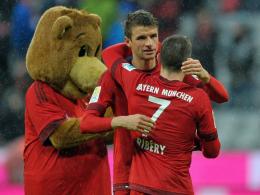 Müller und Ribery