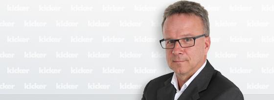 kicker-Reporter Thomas Hennecke.