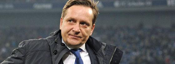 Schalkes Sportvorstand Horst Heldt