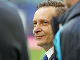 Schalkes scheidender Sportvorstand Horst Heldt.