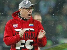 Kölns Trainer Peter Stöger
