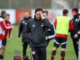 Leverkusens Trainer Roger Schmidt.