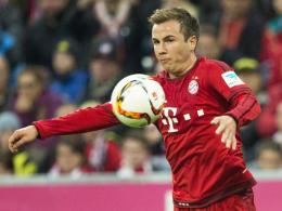 Steht in Wolfsburg vor dem Comeback: Bayern Münchens Weltmeister Mario Götze.