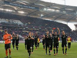 Knoten geplatzt? Hannover feiert den ersehnten Sieg in Stuttgart.