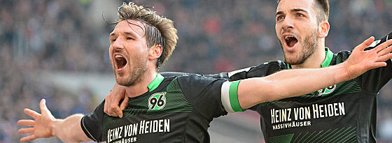 Die Erlösung: Christian Schulz bejubelt den Treffer zum 2:1-Sieg.