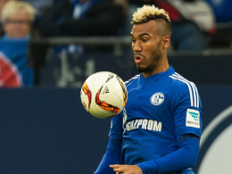 Zurück im Mannschaftstraining: Schalkes Offensivmann Eric Maxim Choupo-Moting hat seine Beckenprellung auskuriert.