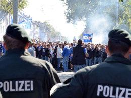 Fans beim Derby in Dortmund