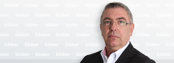 kicker-Redakteur Frank Lußem.