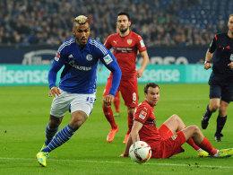 Schalkes Stürmer Eric-Maxim Choupo-Moting