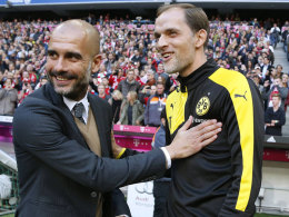 Pep Guardiola und Thomas Tuchel