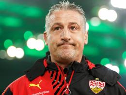 Wird auf die Pleite in Gladbach personell reagieren: VfB Stuttgarts Trainer Jürgen Kramny.