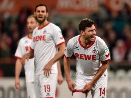 Wird gegen Schalke wohl mitwirken können: Kölns Nationalspieler Jonas Hector (#14).