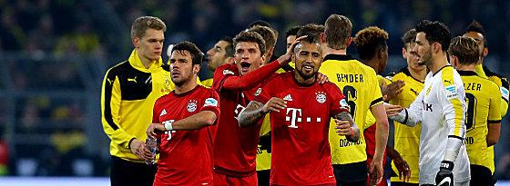 Die Bayern durften sich freuen: Das Remis spielte Müller und Co. in die Karten.