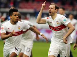 Bejubelte gegen Hoffenheim seinen ersten Doppelpack in der Bundesliga: Georg Niedermeier (r.).