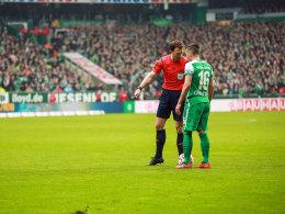 Zlatko Junuzovic im Spiel gegen Hannover.