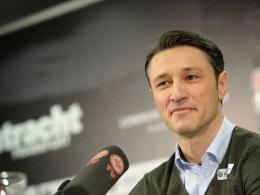 Niko Kovac am Dienstag in Frankfurt