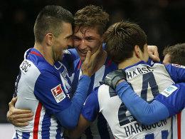Hertha BSC nimmt weiter Kurs auf die Champions League.