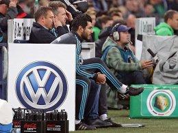 Im DFB-Pokal wohl weiter vertreten, auf Schalke dann nicht mehr: das VW-Logo.