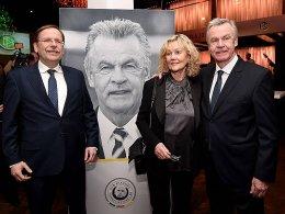Dr. Rainer Koch, Beatrix und Ottmar Hitzfeld