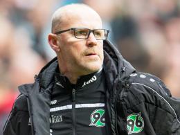 """""""Wir sind in der Pflicht, das abzurufen, was in uns steckt"""": Hannovers Chefcoach Thomas Schaaf."""
