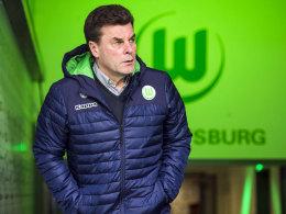 Richtet den Blick weiter nach vorne: VfL-Coach Dieter Hecking.