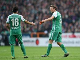 Zlatko Junuzovic und Clemens Fritz (r.)