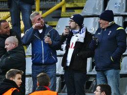 Tottenham-Fans in Dortmund