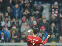 Traf mit Bayern auf wenig Werder-Widerstand: Robert Lewandowski.