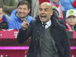 Kann die Rotationsmaschine anwerfen: Bayern Münchens Cheftrainer Pep Guardiola.