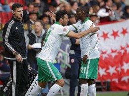 Claudio Pizarro hat Anthony Ujah den Rang abgelaufen.