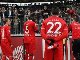 Alarmstufe Rot: In Hannover sieht es nach Abstieg aus.
