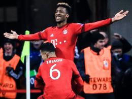 Matchwinner: Thiago und Kingsley Coman gehörten zu Bayerns klaren Gewinnern gegen Juve.