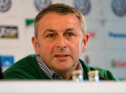 Kennt Darmstadts Sandro Wagner aus Bremer Zeiten: Wolfsburgs Manager Klaus Allofs.