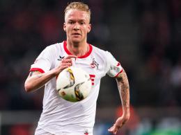 Ist derzeit nicht einmal in der Lage, einen Fußballschuh anzuziehen: Kölns Kevin Vogt fällt verletzt aus.