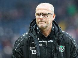 Echauffierte sich über Aussagen von Ex-Referee Dr. Markus Merk: Thomas Schaaf.