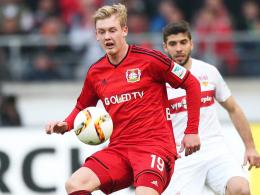 Ist der Knoten nun geplatzt? Leverkusens Youngster Julian Brandt spielte in Stuttgart groß auf.