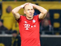 Soll gegen Frankfurt wieder fit sein: Bayern Münchens Dribbelkünstler Arjen Robben.