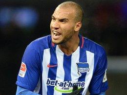Kam verletzt von der Länderspielreise zurück: Anthony Brooks droht für das Spiel in Mönchengladbach auszufallen.