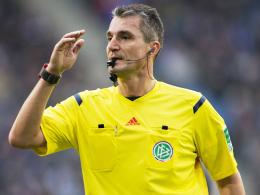 """""""Diese Saison läuft für mich so holprig wie keine andere"""": Bundesliga-Schiedsrichter Knut Kircher."""