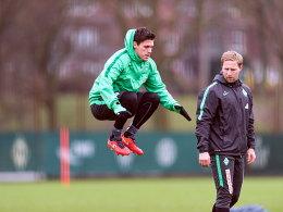 Jörn Heineke (hier mit Zlatko Junuzovic)