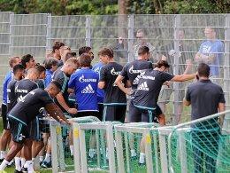 Sommertrainingslager des FC Schalke 04