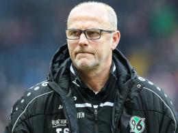 Geht mit Hannover nicht in die 2. Liga: Trainer Thomas Schaaf.