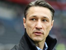 Arbeitet am Klassenerhalt der Eintracht: Trainer Niko Kovac.