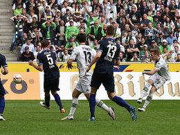 Herrmann freut sich f�r Hahn - Jantschke: