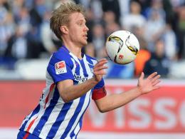 Hertha bangt um Skjelbred und bekr�ftigt Stadionpl�ne