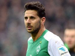 Pizarro fehlt Werder gegen Augsburg