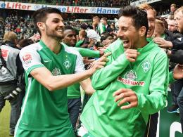 Pizarro an der Spitze - Junuzovics Versprechen