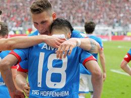 Hoffenheimer Klubrekord: Vier Akademiespieler in der Startelf